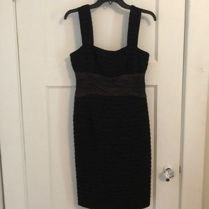 Black bodycon Nanette Lepore cocktail dress